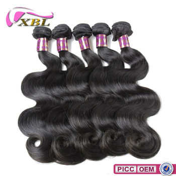 Top virgin hair companies top quality unprocessed 10A Brazilian hair