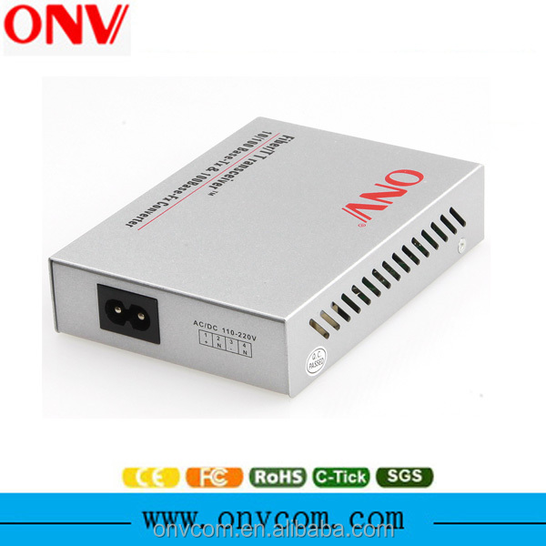 Data+ Voice+ WIFI 10/100M Single fiber Media Converter