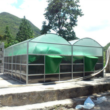 Sunrise portable assembly cstr digester system used to biogas chiller