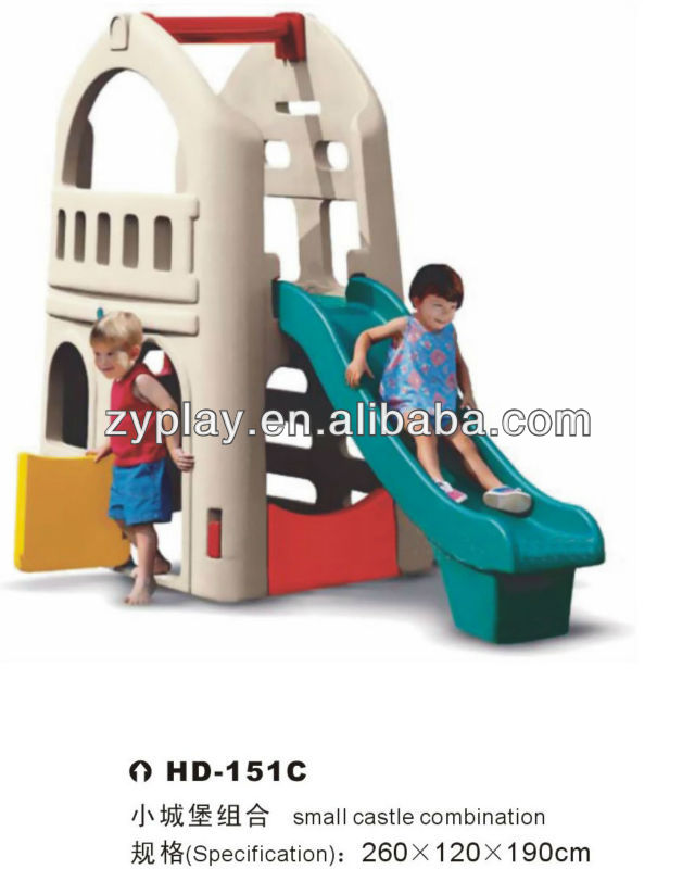 Hot-selling Plastic Kids Slide Toy for Home