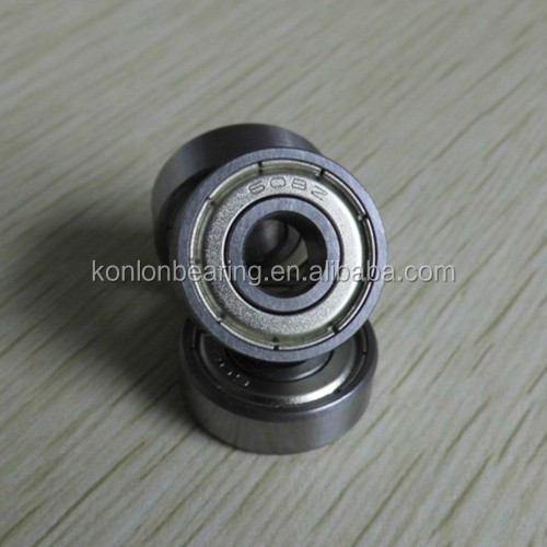miniature bearing/sprag clutch bearing /shutter ball bearing 608 ZZ