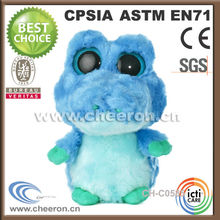 Excellent gifts custom stuffed small blue frog animal