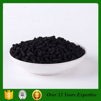 Seafood and Aquarium Water Treatment 4mm Extruded Pellets Coconut Activated Carbon