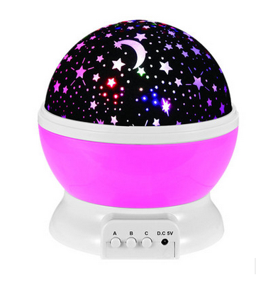 home projector Baby Night Light Moon Star Projector 360 Degree Rotation