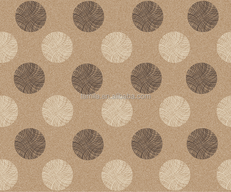 Round spot Waterproof PVC 3D DIY wall paper /Home Deco wallpaper