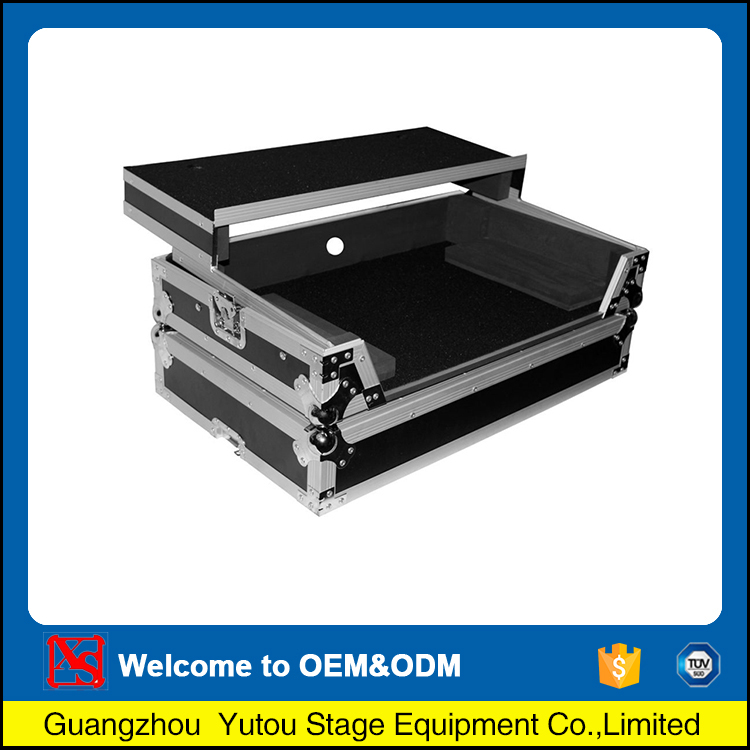 China gold manufacturer durable outdoor dj equipment case