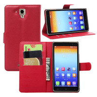 Cell phone accessories New leather flip case cover back cover case for Lenovo A850