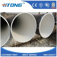 ss304 cold drawn large diameter thin wall seamless stainless steel pipe