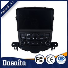 8 Inch 2 din Microphone control panel Android Black screen car gps dvd player OEM for Chevrolet Cruze 2008 2011