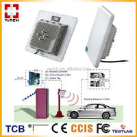 Rfid vehicle tracking system with LED light