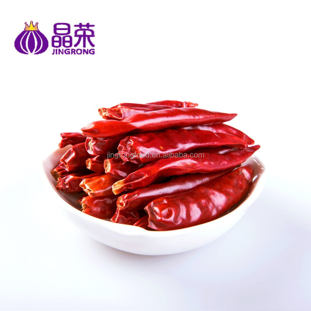 Bright Red Hot Spicy Dried Chili Chilli Pepper