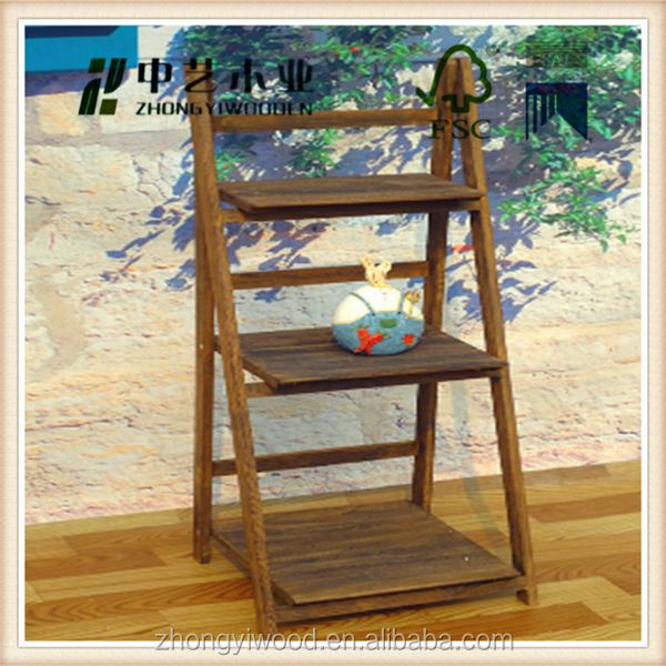 Trade assurance paulownia wood cabinet in carbonized color with seaweed basket and flower liner