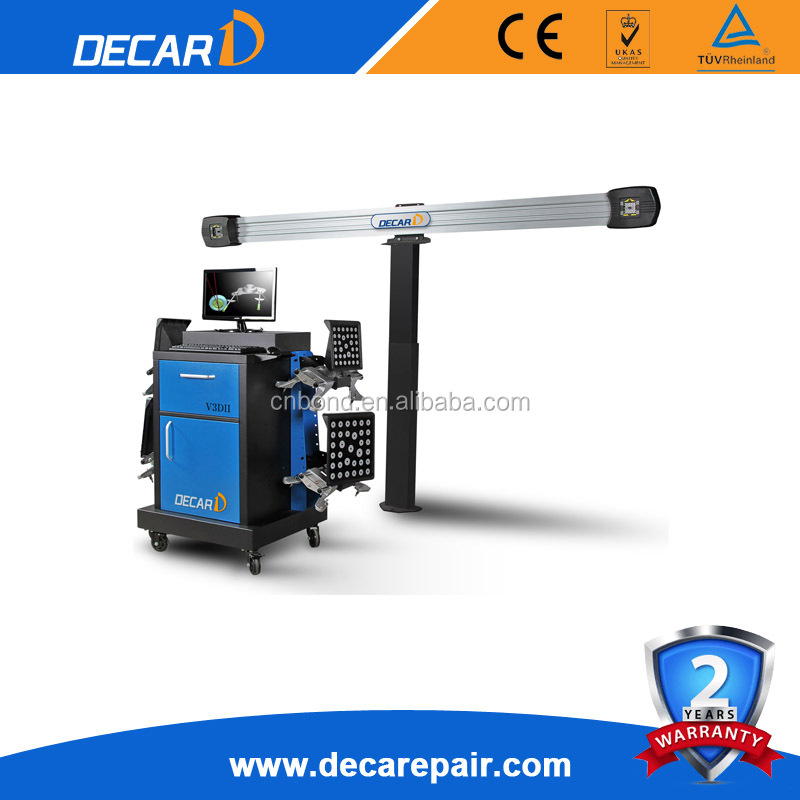 DECAR factory manufacture 3D computer wheel alignment equipment