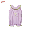 Toddler clothing summer baby body suit ruffle baby girl rompers