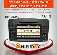 HIFIMAX WIN CE 6.0 Car DVD GPS For Mercedes Benz R W251 2006 onward Car GPS Navigation System