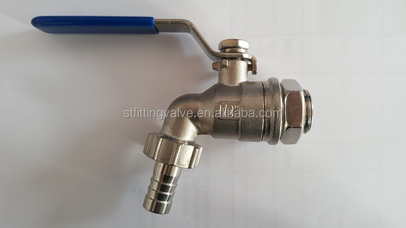 High Quality Wall Mounted 304 Stainless Steel Bibcock Taps Bibcock Valve