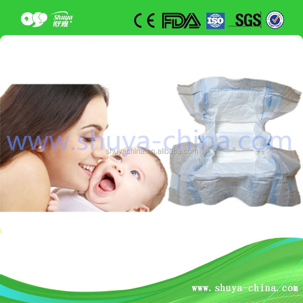 Dry Surface Absorption and Printed Feature Pampering Baby Diaper