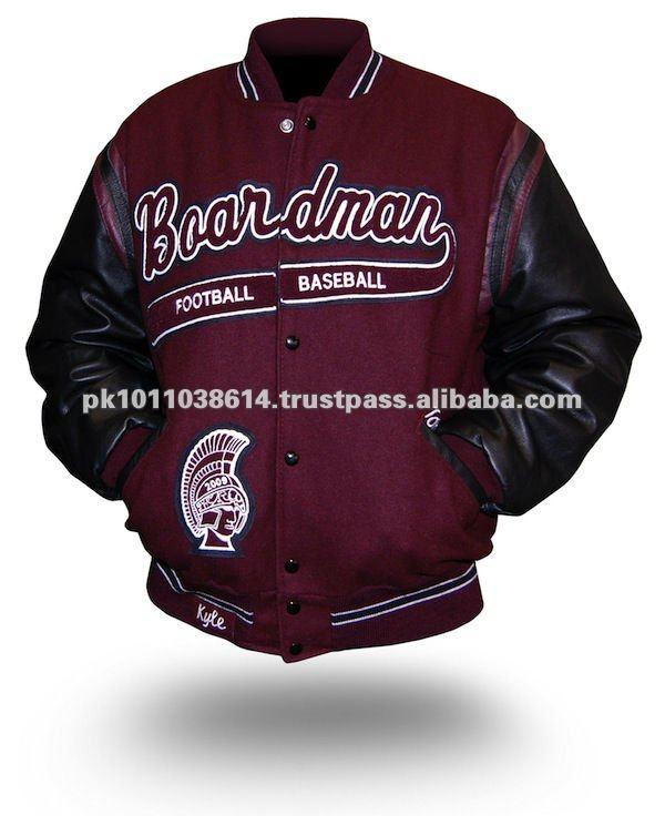 Custom Made Varsity Jacket/baseball Jackets Custom Made Varsity