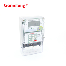 Factory Supply Single Phase STS Standard Smart 230V Keypad Type Meter With Free Vending Software