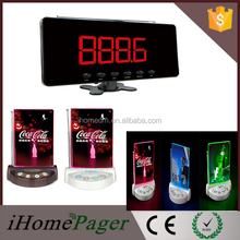 Coffee Shop Electronic Table Buzzer Wireless Waiter Caller System