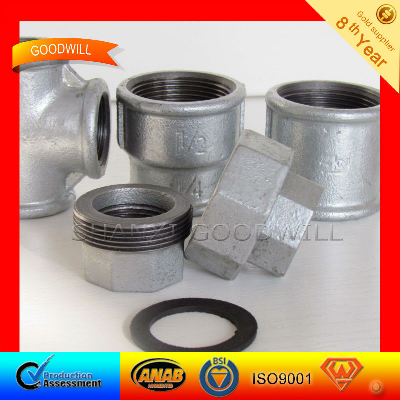 Malleable Iron Pipe Fitting DIN--SHANXI GOODWLL