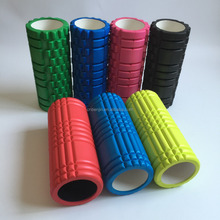 Foam Roller with Massage Acupressure Exercise Core Therapy Roll Tool with Bi-directional Zone for Spine Comfort