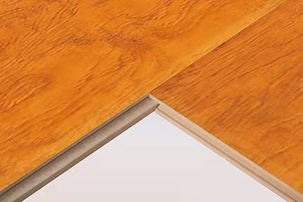 indoor usage interlocking laminated flooring with CE ISO certification