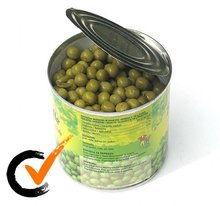 China hot sell Canned green peas/bean in can(tins) with factory price for sale