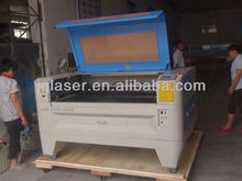 laser cutting machine with red sensitive follower head to cut non-flat surface