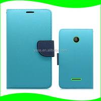 Fancy Cover Case for Nokia Lumia 532 with Credit Card Slots, Back Case for Nokia Lumia 532
