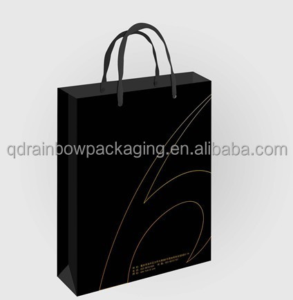fashion handbag paper gift bag supplier
