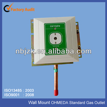 Medical Ohmeda standard gas terminal Oxygen Wall mounted gas Outlet
