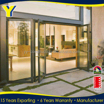decoration porte patio bifold aluminum french doors