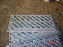 XZ49, ductile iron hinged grating, class C250
