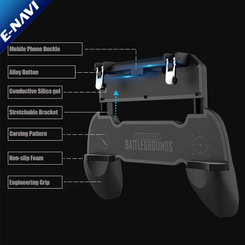 Wholesale Price PU BG Mobile Game Controller - Trigger For Smart <strong>Phone</strong>