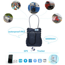 best cargo container seal gps tracker with remote locking function