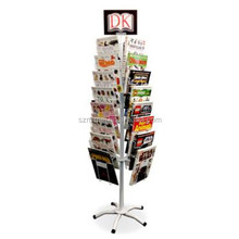 Flexible Multi-tier Practical Floor Standing Magazine Rack