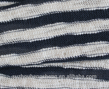 200gsm 100% cotton yarn dye stripes singleJersey or skirt fabric