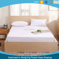 Waterproof Terry Towelling With Pu Covered Fabric Mattress Cover, Mattress Protector