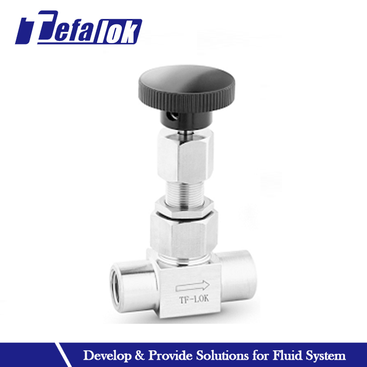 gas and liquid flow control metering valves