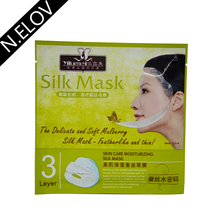 Best Selling private label female sheet Deep replenishment OEM Service Sheet silk Face Mask