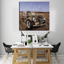 Factory Price Classical Car HD Art Pictures For living Room Free Sample