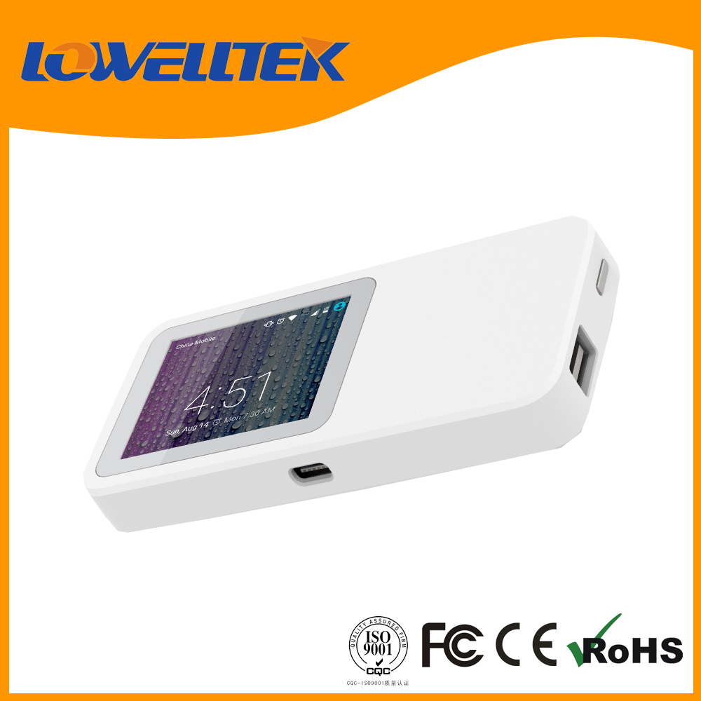 OEM Fashion Style Mini Portable Wireless Gps Wifi Router with Sim Card Slot