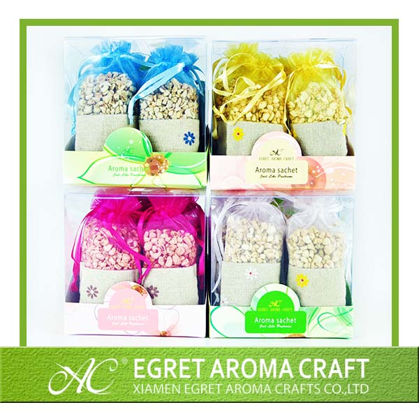 nice design and cheap for promotion drawer scented sachets