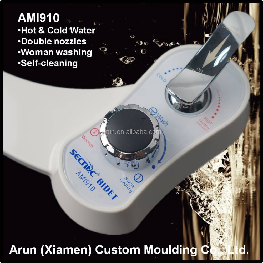 Warm water easy bidet of manual control type AMI9