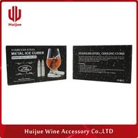 Manufacturer Guangdong factory customized whiskey stones reusable ice cubes