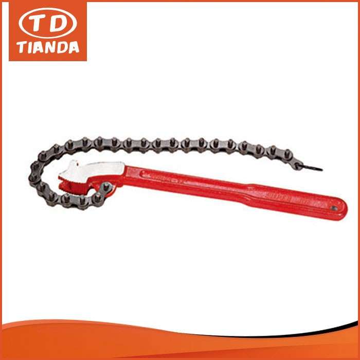 Response In 24 Hours Malleable Iron Handle Pipe Wrench Rigid Type