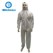 New Design Custom Waterproof Disposable Cleanroom Coverall With Hood