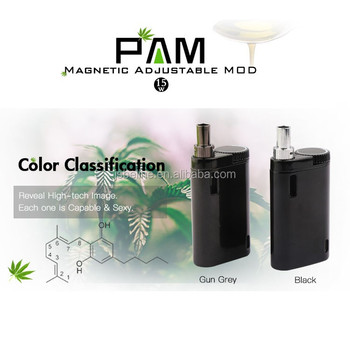 box mod ceramic vape cartridge cbd oil 0.5ml 510 thread variable battery mod pam model from JSB factory wholesale in USA