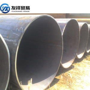 China manufacturer Brand new hot rolled hollow section round galvanized steel pipe price